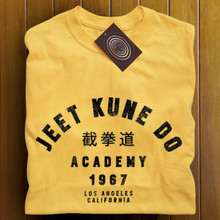 Jeet Kune Do T Shirt (Yellow)