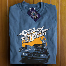 Smokey and the Bandit (Indigo) T Shirt