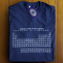 Periodic Table (Blue) T Shirt