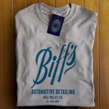 Biffs Automotive Detailing T Shirt (Sand)