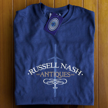 Russell Nash Antiques T Shirt (Navy)