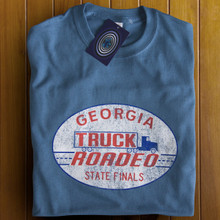 Truck Roadeo T Shirt (Indigo)