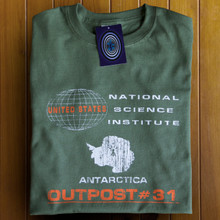 Outpost #31(The Thing) T Shirt (Green)