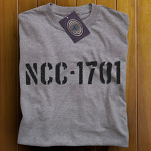 NCC-1701 T Shirt (Grey)