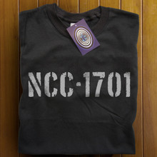 NCC-1701 T Shirt (Black)