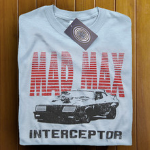 Mad Max V8 Interceptor (Light Blue) T Shirt