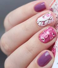 enVogue Simply Pink Cherry Blossoms N254