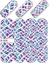 enVogue Simply Decals Purple/Blue Prism N509