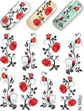 enVogue Simply Decals Roses Vines N566