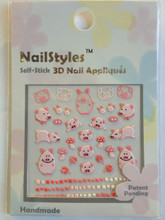 NailStyles 3D Nail Stickers CN-10