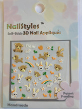 NailStyles 3D Nail Stickers CN-12