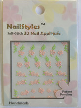 NailStyles 3D Nail Stickers RA-119