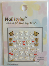 NailStyles 3D Nail Stickers CN-09