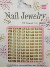 Designer Nail Stickers Gucci