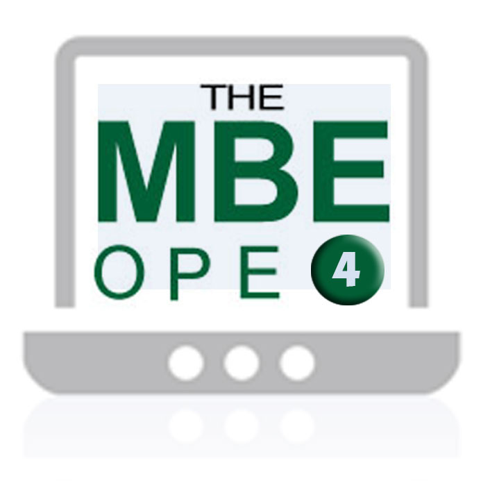 MBE Online Practice Exam 4 - NCBE Study Aids Store