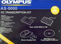 Olympus AS-5000 PC Transcription Kit
