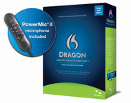 Nuance Dragon Medical Practice Edition 2 with Nuance PowerMic II