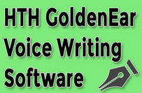 HTH GoldenEar Voice Writing Software