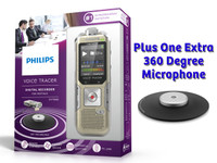 """Philips Voice Tracer Meeting Recorder II"" Conference Meeting Recording Bundle"
