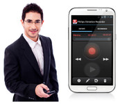 Philips LFH0747 SpeechExec Enterprise Dictation Recorder for Android Smart Phone