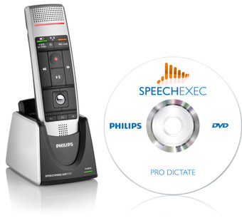Philips LFH 3005 SpeechMike Air Push-button dictation microphone and dictation software