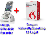 Legal Package: DPM-8000 + Dragon NaturallySpeaking 13 Legal