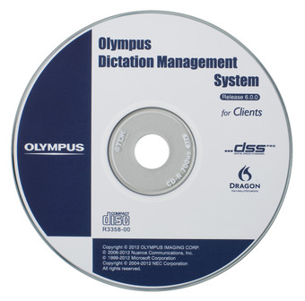 AS-7002 Olympus Dictation Module Software
