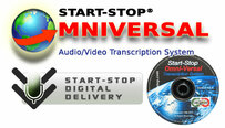 Start-Stop OmniVersal DVD/Video/Audio Transcription System – Software