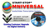 Existing Customer Upgrade to Start-Stop OmniVersal DVD/Video/Audio Transcription System Software via Digital Delivery