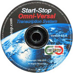 Start-Stop OmniVersal Transcription System – Software Only