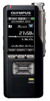 Olympus DS-3500 Professional Dictation Recorder Front