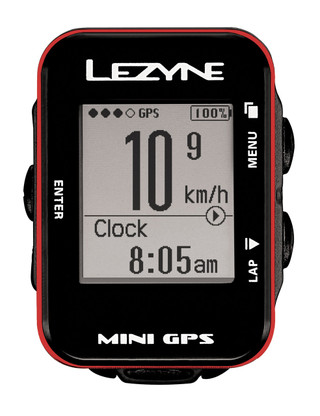 An elegant, compact minimalist cycling computer. The elegant Mini GPS is compact, powerful and ideal for the cycling minimalist. Simply turn it on, press start and go for a ride. Essential ride data is presented on a sharp, easy to read, semi-customizable display and logged for later analysis. The display also features auto-scrolling ride info, custom lap presets and an optional auto start/stop function. An optimized GPS recording system stores up to 100 hours of data and can be easily accessed via flash drive technology. Rides are saved as .fit files for cross-compatibility with third-party interfaces like Strava™ and TrainingPeaks®. Housed in a stylish aluminum bezel, the computer features a simple three-button operation and is micro USB rechargeable for up to 10 hours of runtime.  Features Incredibly compact, lightweight GPS computer No sensors required Ultra sharp, easy to read and semi-customizable display with backlight Elegant, machined aluminum bevel Simple three button operation Optimized GPS recording stores up to 100 hours of data Scrolling data ticker and auto start/stop functions Custom alerts Up to 10 hours of runtime Micro USB rechargeable Weight: 29 Grams Includes X-Lock Standard Mount Specs COLORS: Red black silver WEIGHT: 29g RUNTIME: 10 hours MEMORY: 100 hours max DIMENSIONS: Computer 33.4mm (W) x 50.8mm (L) x 22.5mm (H) Screen: 20.9mm (W) x 24.4mm (L) CONNECTIVITY: Upload directly to GPS Root website for ride organizing and analysis Instant download of ride files (.fit) via plug-and-play flash drive technology (Windows®/Mac®) Compatible with third-party sites like Strava™ and TrainingPeaks® DISPLAY DATA: Moving time, ride time, elapsed time Distance: Current, Trip Total, Trip 2, Odometer Speed: Current, Average, Max. Elevation: Ascent, Descent, Current Laps Temperature Time: ride time, clock GPS signal strength Battery life indicator Semi-customizable display: 2, 3 or 4 fields Manually choose bottom field, or set to auto scroll