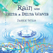 Rain plus Theta and Delta Waves CD
