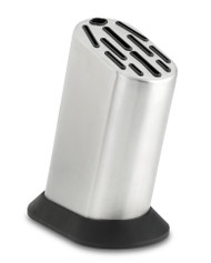 Global 11 Slot Stainless Steel Knife Block (Plain)