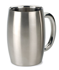 RSVP Endurance Stainless Double Wall Beer Mug