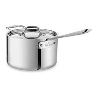 All-Clad 3 Qt. Polished D5 Sauce Pan