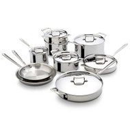 All-Clad Polished D5 15 Piece Set