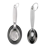 Cuisipro Stainless Steel Measuring Cups & Spoons Set