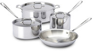 All-Clad 7 Piece Stainless Set