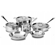All-Clad 10 Piece Stainless Set