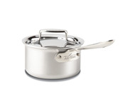 All Clad Brushed D5 1.5 Qt Sauce Pan w/ Lid