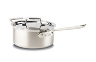 All Clad Brushed D5 3 Qt Sauce Pan w/ Lid