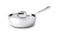 All Clad Stainless Steel 2 Qt Saucier Pan