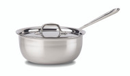 All Clad Stainless Steel 3 Qt Saucier Pan