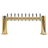 "Metropolis ""H"" - 10 Faucets - PVD Brass - Glycol Cooled"