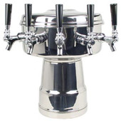 Mushroom - 5 Faucets - Chrome - Air Cooled