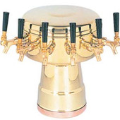 Mushroom - 6 Faucets - Brass - Air Cooled