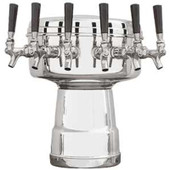 Mushroom - 6 Faucets - Chrome - Glycol Cooled
