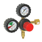 High Pressure CO2 Regulator Double Gauge