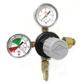 Primary Low Pressure Dual Gauge w/ Shut- Off